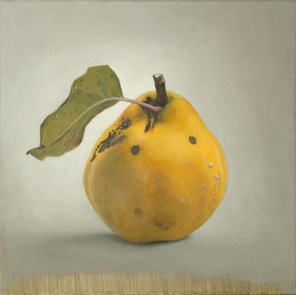 Quitte 05 Diethard Sohn 2014 Acryl auf Leinwand 30 x 30 cm (verkauft)