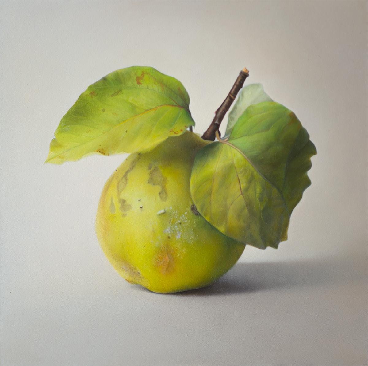 Quitte 07 © Diethard Sohn 2016 Acryl auf Leinwand 30 x 30 cm (verkauft)